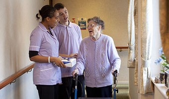 Personal and nursing care in care homes